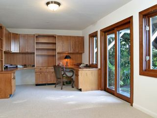 Tiburon house photo - Nanny/office unit has double + trundle, sleeps 3. Two work areas with internet
