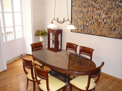 Valencia Old Town apartment rental - Dining area
