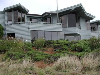 Bodega Bay house photo - Back of Owl's Nest Retreat