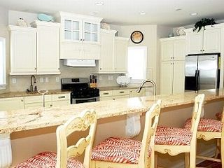 North Topsail Beach house photo - Gourmet extra large kitchen with ample counter space.
