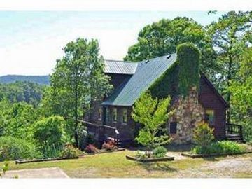 Calico Rock house rental - The House on the Rock located in the Ozark National Forest. Quiet and secluded