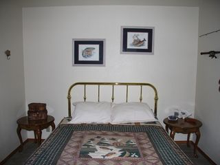 Lake Almanor house photo - Bedroom #2 has a double bed.