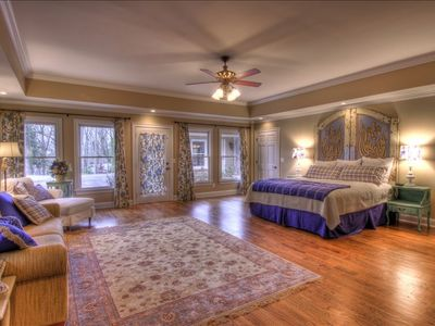 "The ""Blue Room"" is a beautiful second Master Suite"