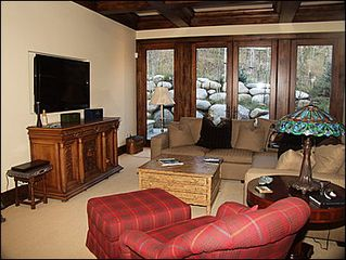 Beaver Creek house photo - Family Room - Large TV