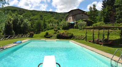 Lovely villa between LUCCA&FLORENCE with panoramic view, private pool and large garden