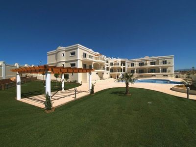 Porto de Mos apartment rental - Extensive Walled Gardens