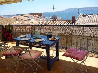 Village house - Panoramic Thau - Large Terrace - Beach