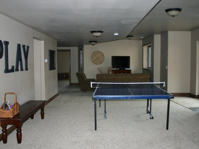 Another family room area to kick back and watch the game or movie Midway Utah