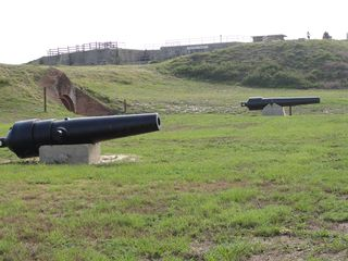 Gulf Shores cottage photo - Cannons at Fort Morgan