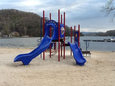 The kids will love the play ground at beach side.