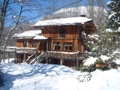 Les Houches chalet rental - 'Magical Tree House Chalet' in Gorgeous Woodland