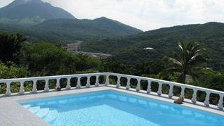 Montserrat villa photo - Balcony View of Upper Belham Valley and Mountains in the distance