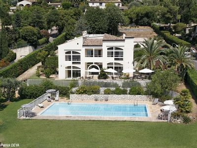 St-Paul-de-Vence villa rental - Villa & Pool