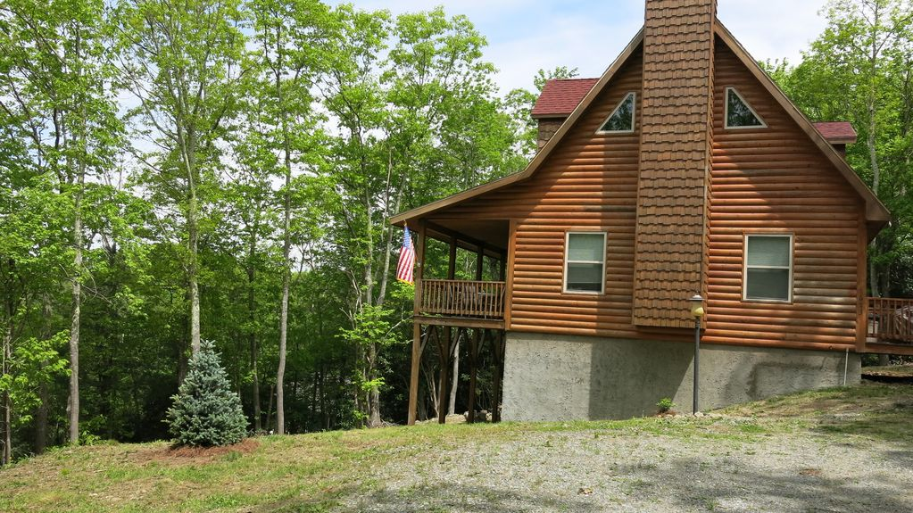 Blowing rock vacation rental vrbo 280893 3 br blue for Cabin rentals near blowing rock nc