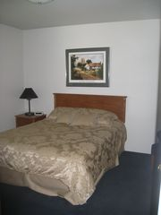 Provo townhome photo - Downstairs room with a queen bed