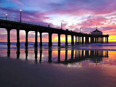 Manhattan Beach sunset at the pier!