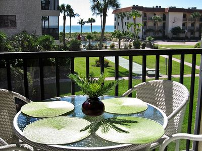 Views of Gulf & Pool from your 2nd floor Lanai