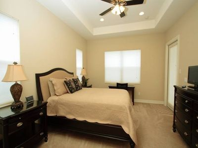 Master Bedroom with Direct Access to Lanai / Pool Area