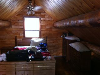 Cross Lake cabin photo - Loft Bedroom