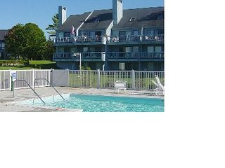 Petoskey condo photo - Large heated pool