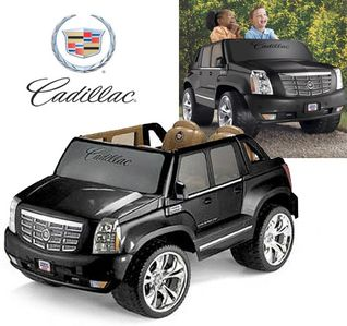 New Cadillac Escalade Power Wheel (Coming June 2013) - Kids will love this!