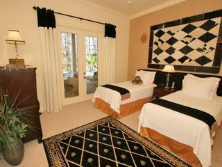 Formosa Gardens villa photo - The Sandringham suite. Electric beds. Doors to pool and outdoor fireplace.