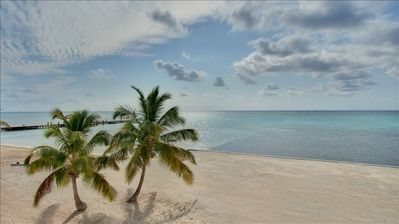 Grand Caribe's Beautiful White Sand Beach!