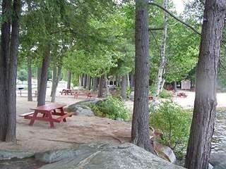 view of picnic area