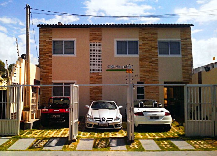 LUXURIOUS FLATS TO 2 MIN FROM THE CASTELÃO SAND. OBS: R $ 100 reais, value for 02 people
