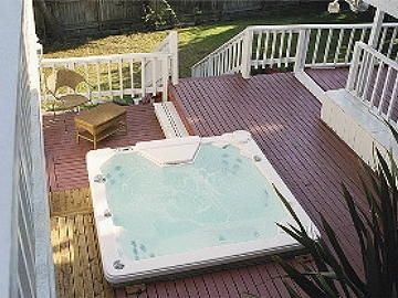 Outdoor Private Hot tub Seating 8 People