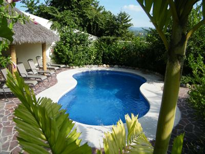 Sayulita house rental - Pool and Lounge Chairs