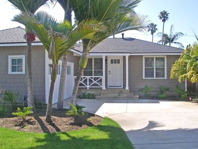 Santa Barbara house rental - Little Palm Cottage