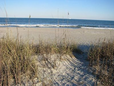 #1 BEach House- Direct beach front access- walk out with your toes in the sand.