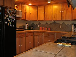 Divide house photo - kitchen area.