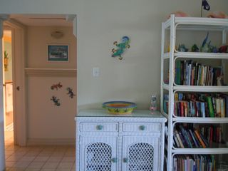 Grand Cayman condo photo - Library full of books