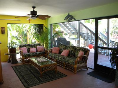 Lanai Seating area