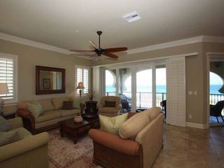 Flagler Beach condo photo - Spacious seating with views of the Atlantic in Great Room