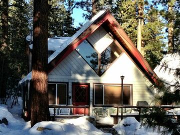 Incline Village chalet rental - Tahoe chalet in winter