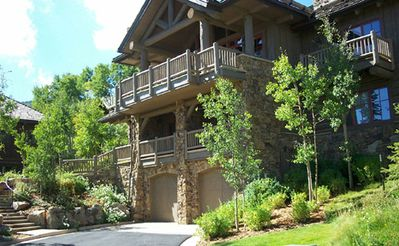 Bachelor Gulch home in summer