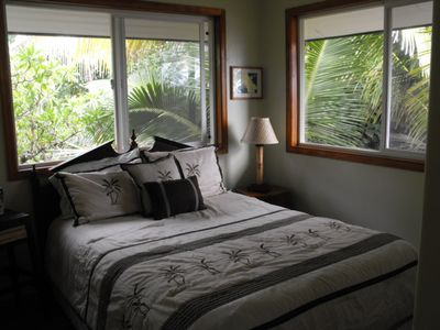 Kapoho house rental - Perfect for a quiet nights sleep.