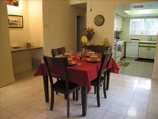 Palm Springs condo photo - Spacious dining area between kitchen and living room