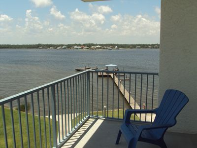 Enjoy the amazing views from this 4th floor balcony!