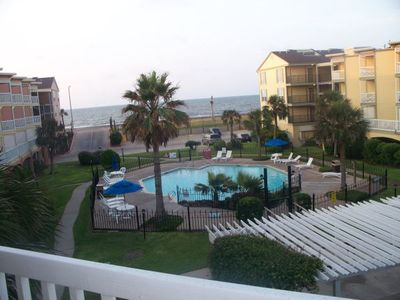 Galveston condo rental - View fron Balcony