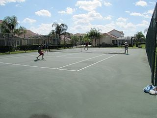Tuscan Hills villa photo - tennis court