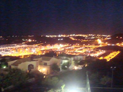 Albufeira apartment rental - Night time view from balcony