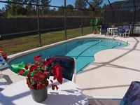 Beautifully furnished villa with pool in a gated community near Disney Orlando