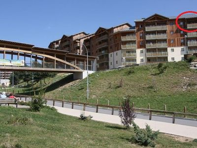Superdevoluy Apartment 43 m2 6 beds, T3 residence at the foot of the slopes 3 *