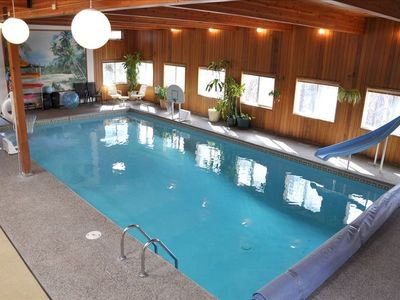 20 x 40 Pool, foosball, hot tub just outside.