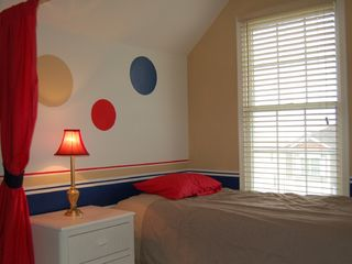 Vacation Homes in Ocean City house photo - One of the Loft area's private sleeping nooks