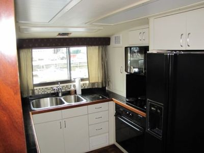 Galley with full size appliances